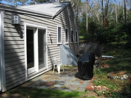 Harwich, Pleasant Lake Cape Cod vacation rental - Patio with grill.