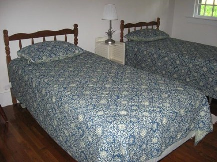 Harwich, Pleasant Lake Cape Cod vacation rental - Bedroom with two twins
