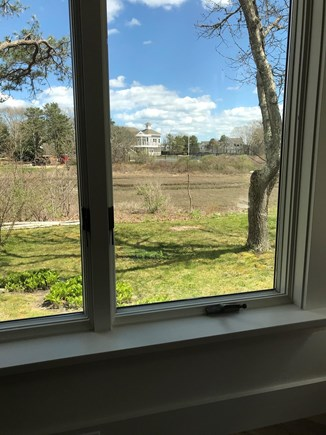 Falmouth, Seacoast Shores Cape Cod vacation rental - Beautiful Views of Tennis Court across the Marsh