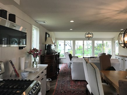Falmouth, Seacoast Shores Cape Cod vacation rental - Gorgeous Water views from Newly remodeled Living Room
