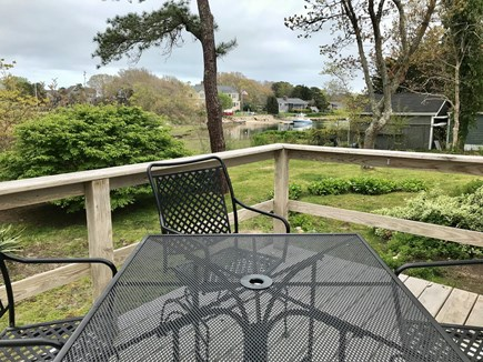 Falmouth, Seacoast Shores Cape Cod vacation rental - Views of Water from Deck
