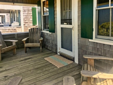 Truro Cape Cod vacation rental - Front Porch for viewing sunset