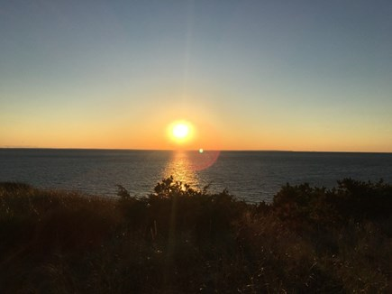 Truro Cape Cod vacation rental - Beautiful sunset