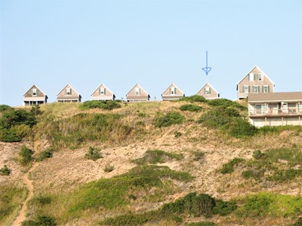 Truro Cape Cod vacation rental - View from the beach