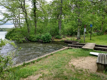 Harwich Cape Cod vacation rental - Private access to Hinckley's Pond just down the road