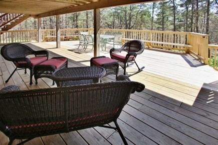 Wellfleet Cape Cod vacation rental - Decks