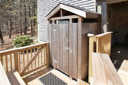 Wellfleet Cape Cod vacation rental - Outside Shower