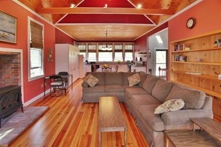 Wellfleet Cape Cod vacation rental - Living Area to Kitchen