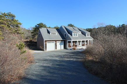 Truro Cape Cod vacation rental - Front of the house - Private Neighborhood, quick walk to Beach.