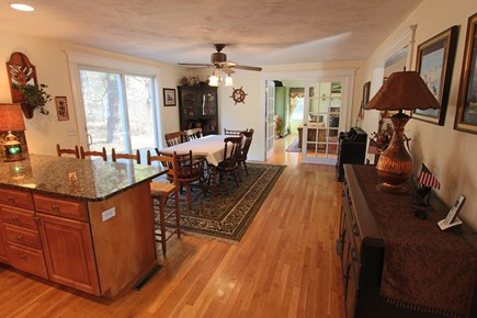 Truro Cape Cod vacation rental - Dining Area off Kitchen