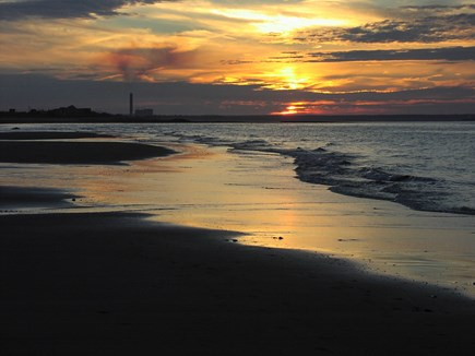East Sandwich Cape Cod vacation rental - Gorgeous sunsets at our Scorton Shores Beach!
