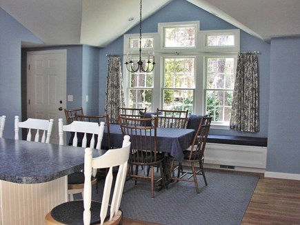 East Sandwich Cape Cod vacation rental - Stunning kitchen and dining room with cathedral and skylight