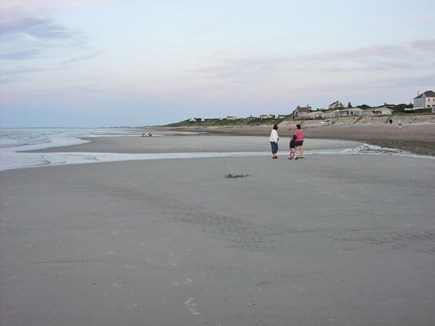 East Sandwich Cape Cod vacation rental - Sunset stroll at low tide on a sandbar is delightful
