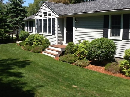 East Sandwich Cape Cod vacation rental - Ranch style home with full finished downstairs with amazing yard