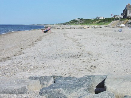 East Sandwich Cape Cod vacation rental - Walk for miles in both directions while on our beach