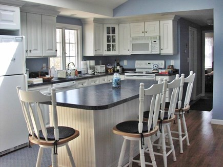 East Sandwich Cape Cod vacation rental - Large island in fully equipped kitchen great for gatherings