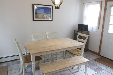 Eastham Cape Cod vacation rental - Separate Dining Area for indoor family meals.