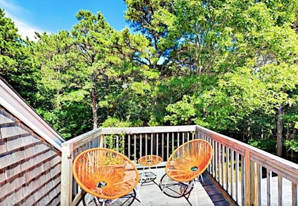 Eastham Cape Cod vacation rental - Sun drenched second Floor Deck to soak up that Vitamin D.