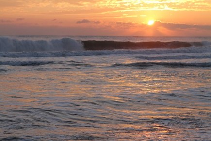 Eastham Cape Cod vacation rental - Greet the new day with the Nauset Light Beach Sunrise!