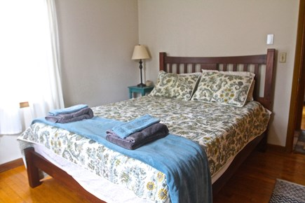 Eastham Cape Cod vacation rental - 1st Floor Queen Bedroom with AC unit and plenty of closet space.