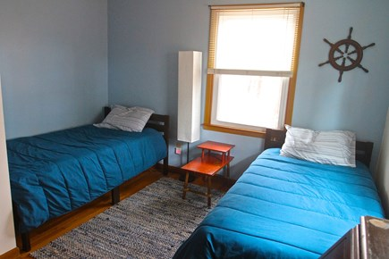 Eastham Cape Cod vacation rental - 1st Floor Bedroom with 2 Twin Beds and a desk.