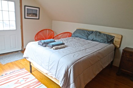 Eastham Cape Cod vacation rental - Second Floor Double Bedroom with attached upper deck