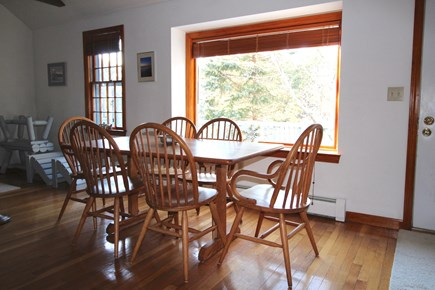 Truro Cape Cod vacation rental - Dining opens to Screen Porch and Deck