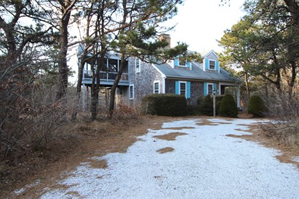 Truro Cape Cod vacation rental - Set back from the road, very private
