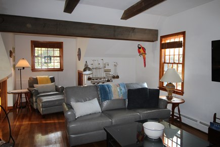 Truro Cape Cod vacation rental - Living Room with flat screen TV