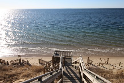 Truro Cape Cod vacation rental - Excellent Beach Stairs