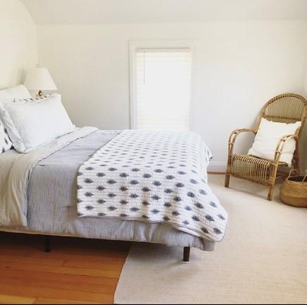 Harwich, Red River Beach Cape Cod vacation rental - Main Bedroom Instagram:  @thebluedoor_harwich
