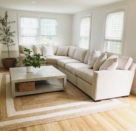 Harwich, Red River Beach Cape Cod vacation rental - Living Room Instagram:  @thebluedoor_harwich