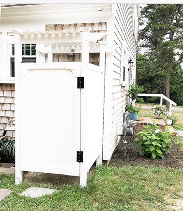 Harwich, Red River Beach Cape Cod vacation rental - Outdoor Shower