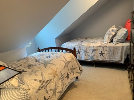 Marion MA vacation rental - Second Floor Bedroom with 1 Full and 1 Twin Bed