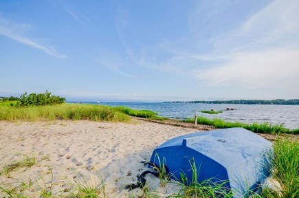 Marion MA vacation rental - Private beach to launch your kayaks or relax by the water.