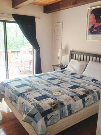 Eastham Cape Cod vacation rental - First floor bed room with queen bed.