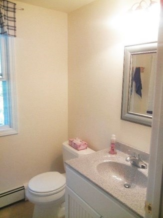 Eastham Cape Cod vacation rental - First floor full bathroom (with tub / shower).