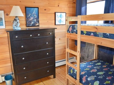 Eastham Cape Cod vacation rental - Second floor bunk room with extra twin.