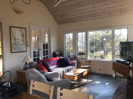 Chatham Cape Cod vacation rental - Family room & large dining area for mealtime gatherings