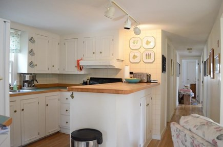 Chatham Cape Cod vacation rental - Kitchen with gas range, microwave, and dishwasher