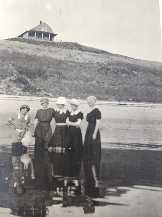 North Truro Cape Cod vacation rental - The Great Aunts; Clara, Florence, Ethel,& Grandmother Mildred