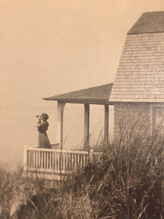 North Truro Cape Cod vacation rental - 1908, Great Aunt Clara looking for whales?