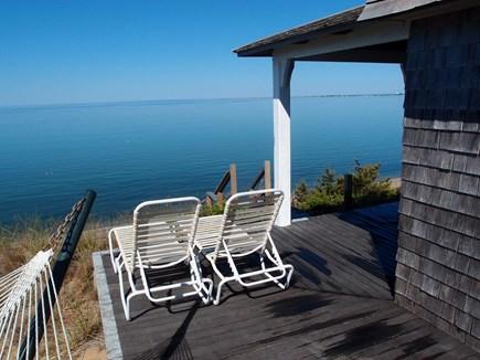 North Truro Cape Cod vacation rental - Deck views.