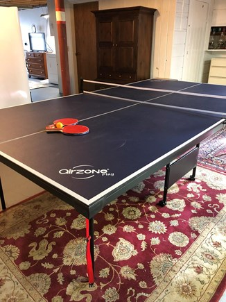 Dennis, Forest Pines Estates Close to  Cape Cod vacation rental - Lower Level Playroom with Ping Pong table
