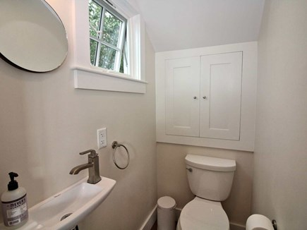 Provincetown Cape Cod vacation rental - 1st floor 1/2 bathroom