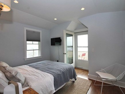 Provincetown Cape Cod vacation rental - 2nd floor bedroom, views of the beach