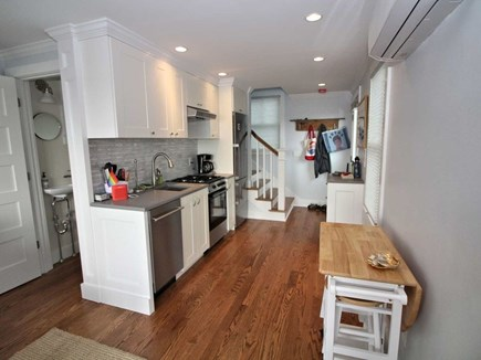 Provincetown Cape Cod vacation rental - Kitchen with beach views.