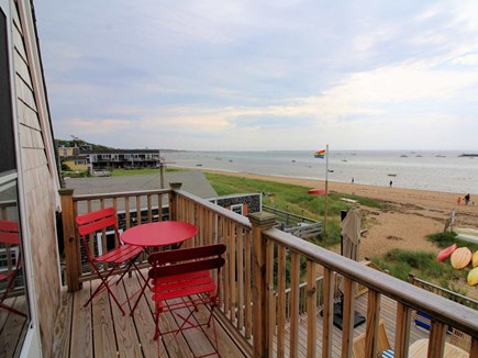 Provincetown Cape Cod vacation rental - Balcony off bedroom, stunning views of the Provincetown Harbor.