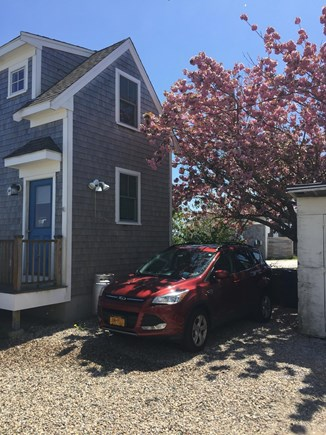 Provincetown Cape Cod vacation rental - Private Parking Space directly next to the cottage. (1 car only)