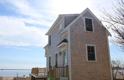 Provincetown Cape Cod vacation rental - Cottage is located directly on the beach.